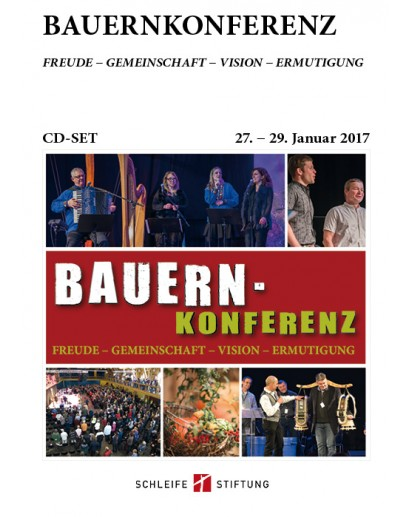 CD-Set Bauernkonferenz 2017 - Plenen & Workshop